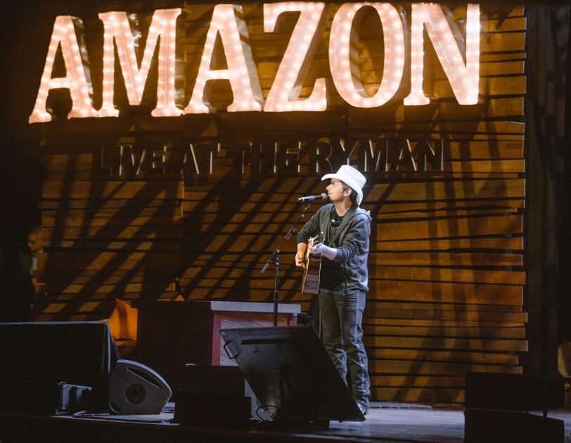 Amazon at the Ryman in Nashville, TN