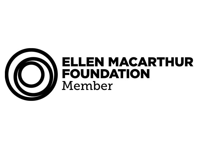 Ellen MacArthur Foundation Logo with concentric circles