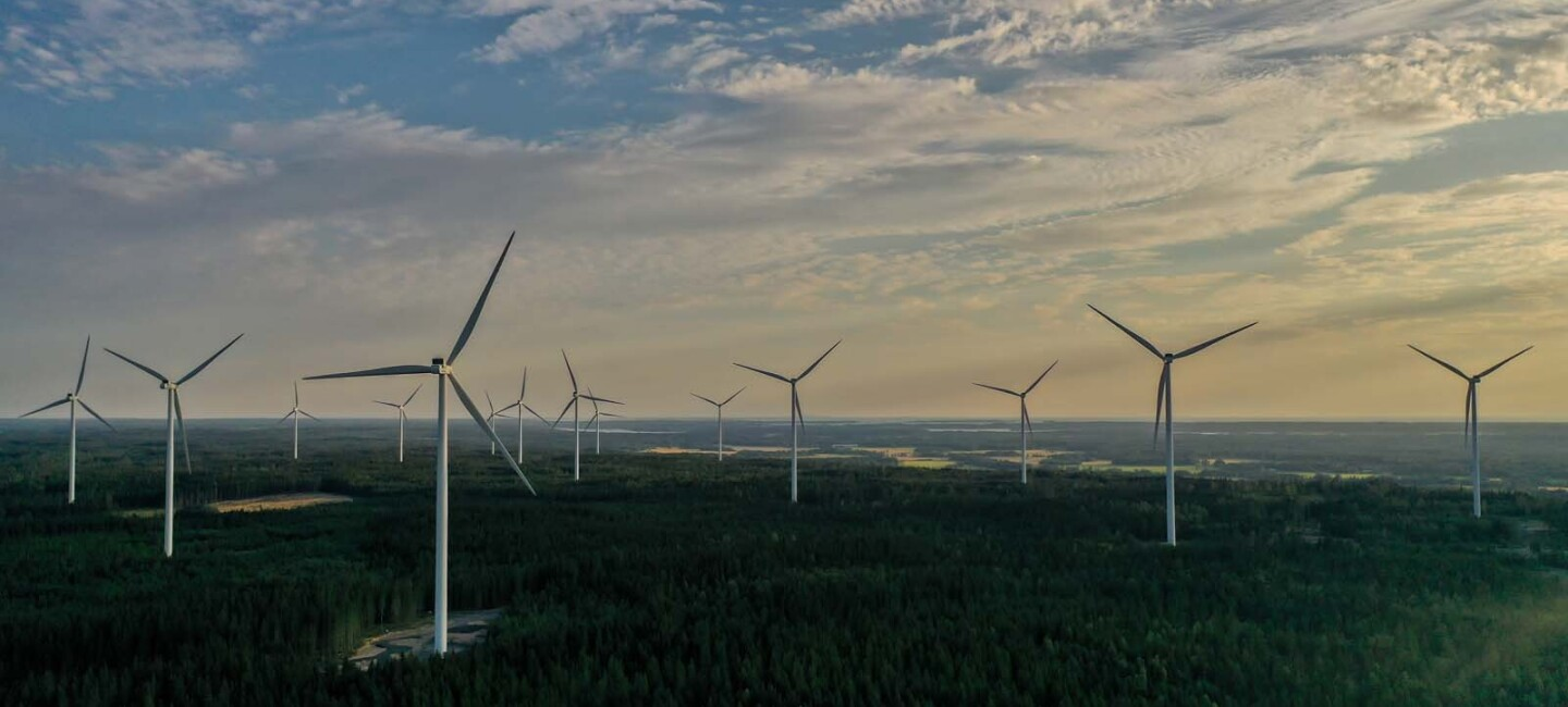 Amazon Backhammer Wind Farm in Sweden