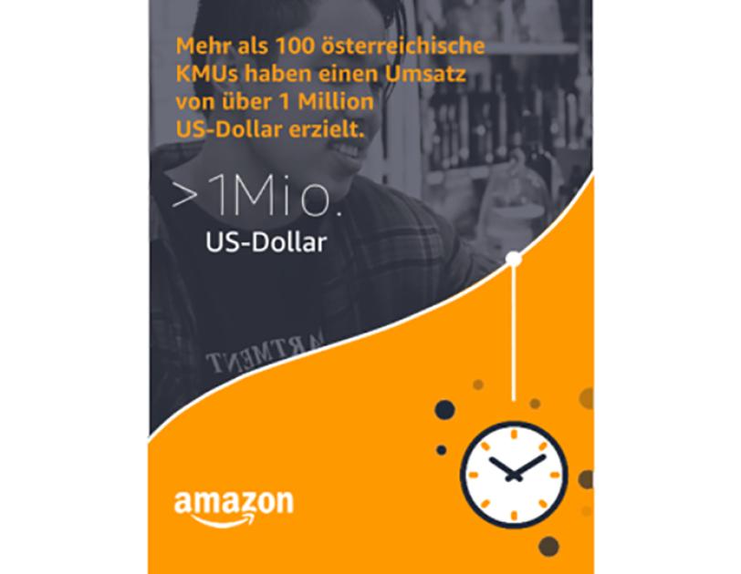 Mehr als 100 österreische KMU haben einen Umsatz von jeweils über 1 Million US-Dollar erzielt.