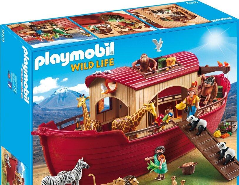 Abbildung der Arche Noah von Playmobil, erhältlich auf Amazon.de.