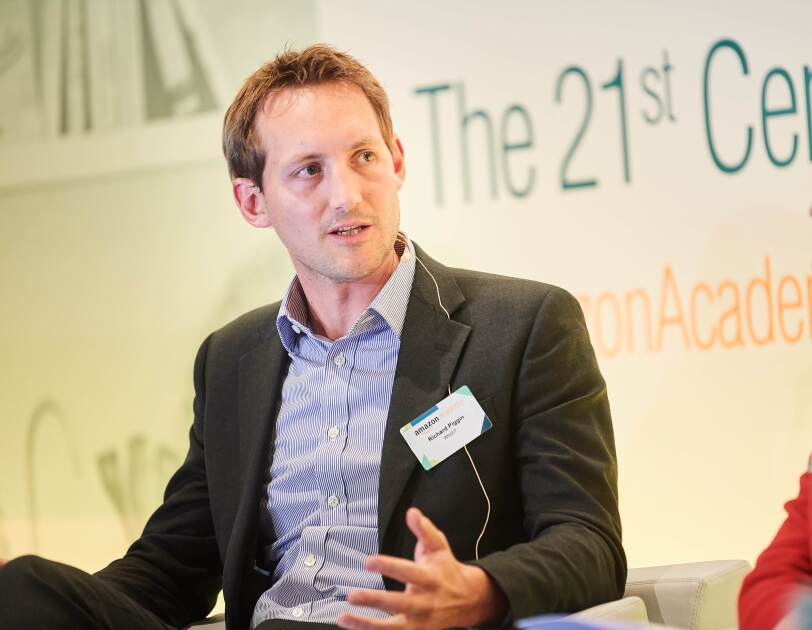 Richard Piggin, Head of External Affairs from Which? speaking at Amazon Academy Brussels panel.