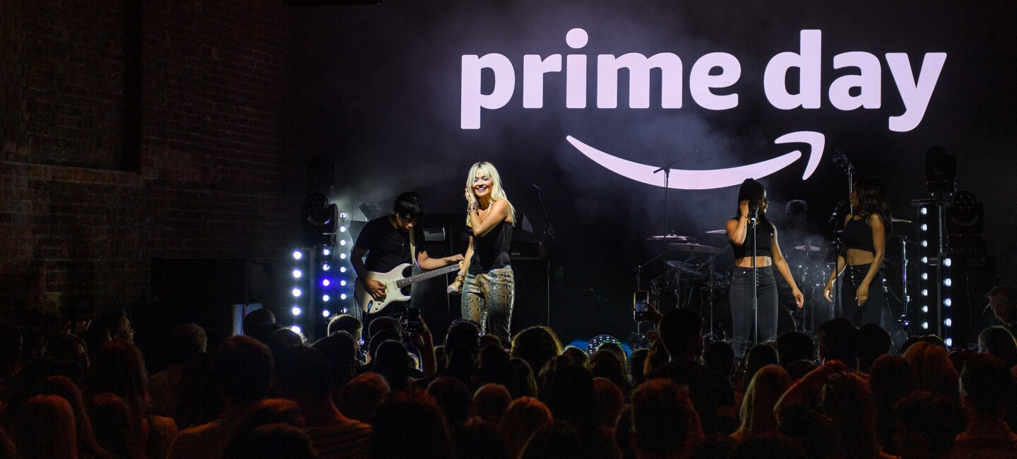 Amazon Prime Day Concerts (Rita Ora, UK)