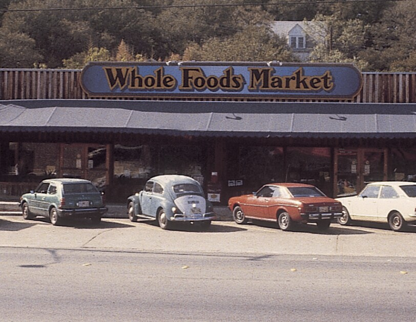 An image of the original Whole Foods Market store.