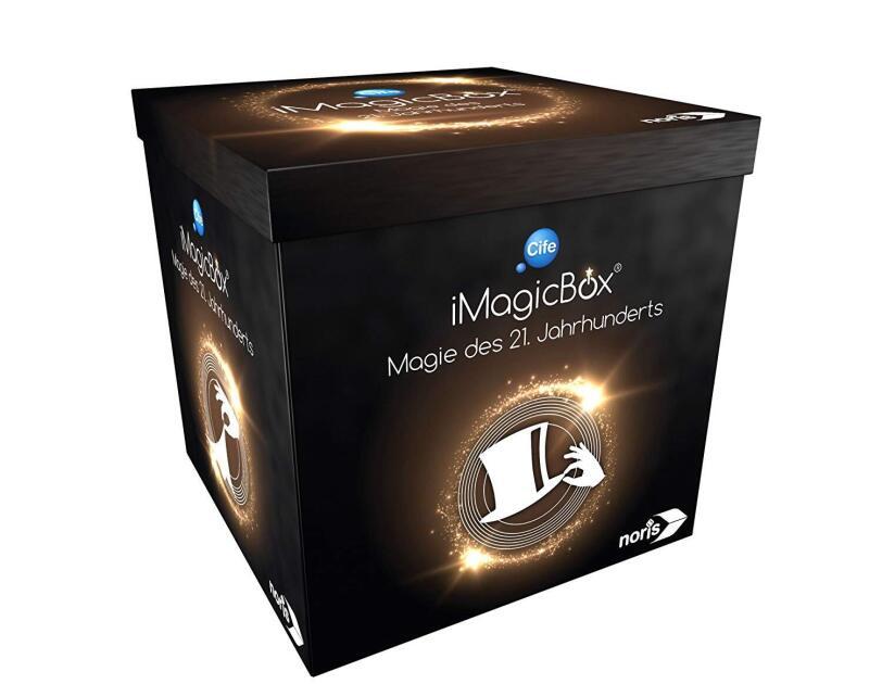 Abbildung des Spiels iMagicBox von Noris, erhältlich auf Amazon.de.