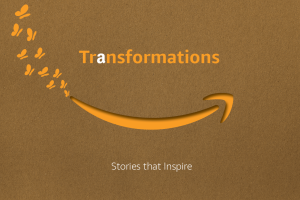 Cover page of Amazon India Transformations Book