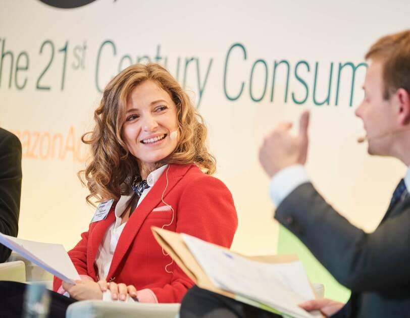 Irina Cruceru, Attaché, Permanent Representation of Romania at Amazon Academy Brussels.