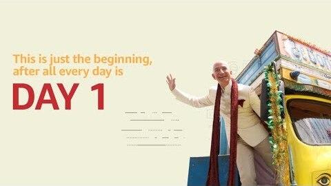 Amazon India's 5th anniversary video