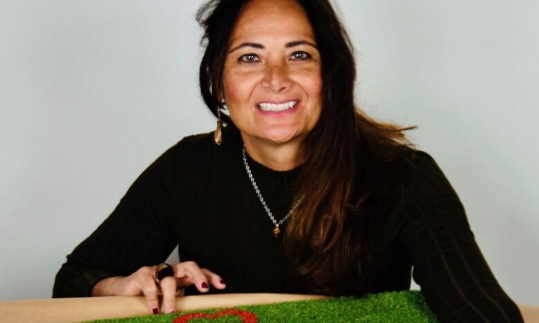 Simona Bandiera, owner, LOVEDOORMAT
