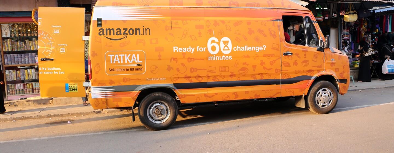 Amazon Tatkal van
