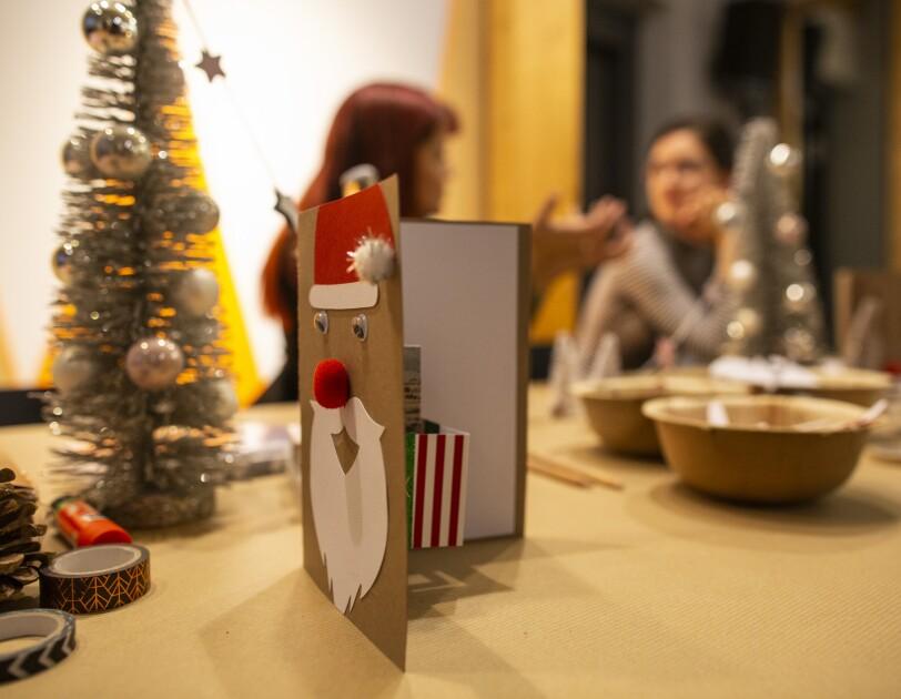 HomeOfChristmas Tutorial: Wie man kreative Weihnachtskarten selbst ...