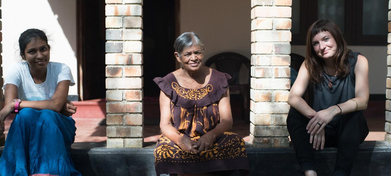 Laura Brandt in Sri Lanka