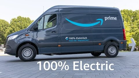 Amazon welcomes more than 1,800 electric-vehicles