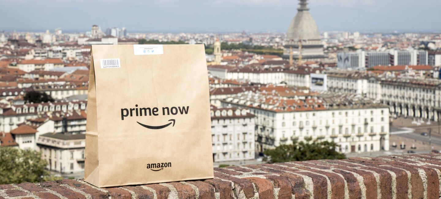 Amazon launches Prime Now for Prime members in Turin