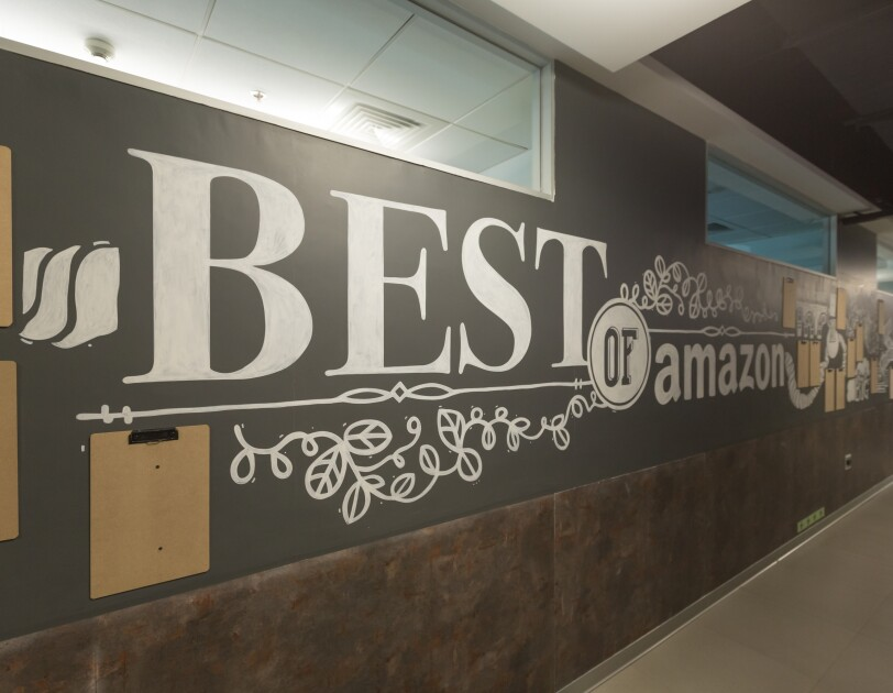 Walls of Amazon India