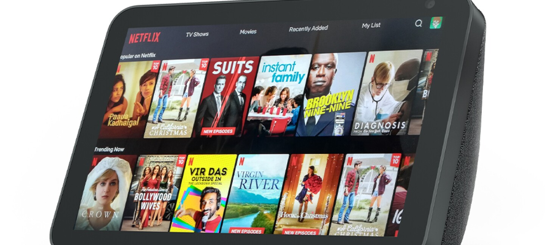Echo Show Netflix Amazon India