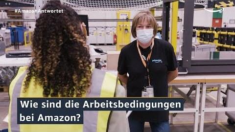 Amazon antwortet 2021: Ist Amazon ein guter Arbeitgeber?