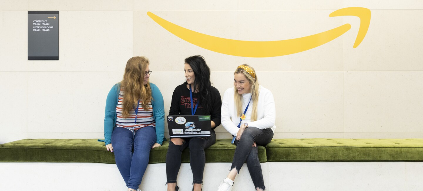 Amazon Web Services female employees in Dublin