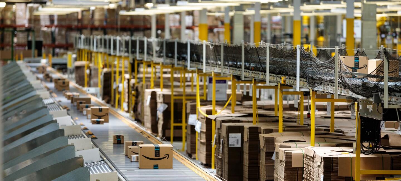 An Amazon Fulfillment Centre