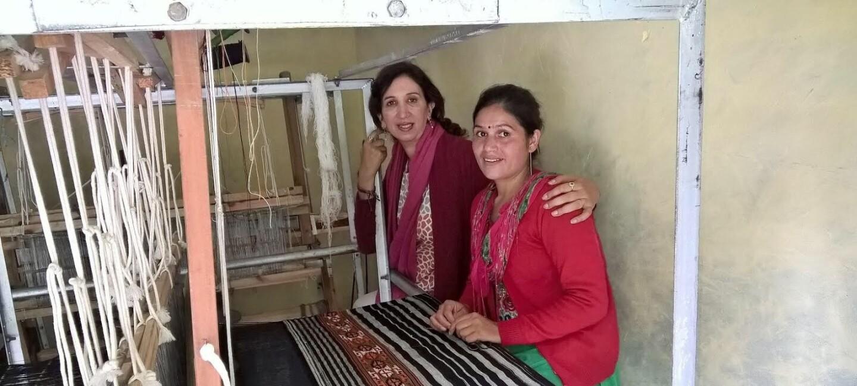 Sunita bali handloom weaver