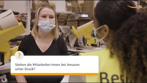 Amazon antwortet 2021: Stehen die Mitarbeiter:innen bei Amazon unter Druck?