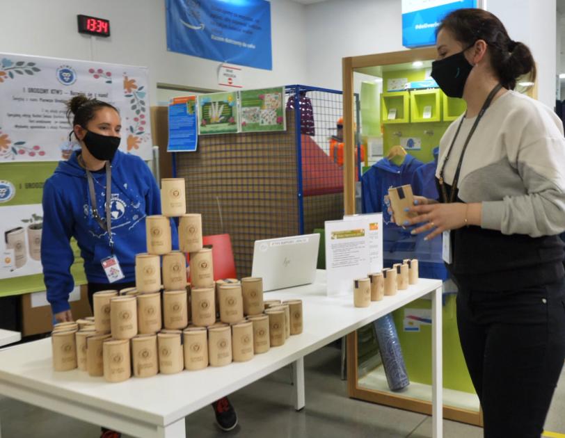 Centrum logistyczne Amazon w Gliwicach świętuje swoją pierwszą rocznicę