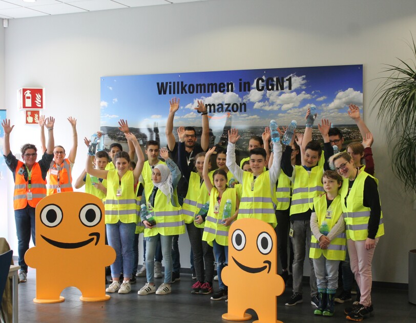 Girls and Boys Day 2018 CGN1 Kids mit Peccy