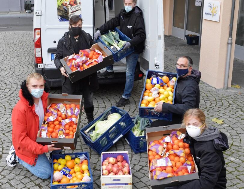 Spendenlieferung an Heimatstern