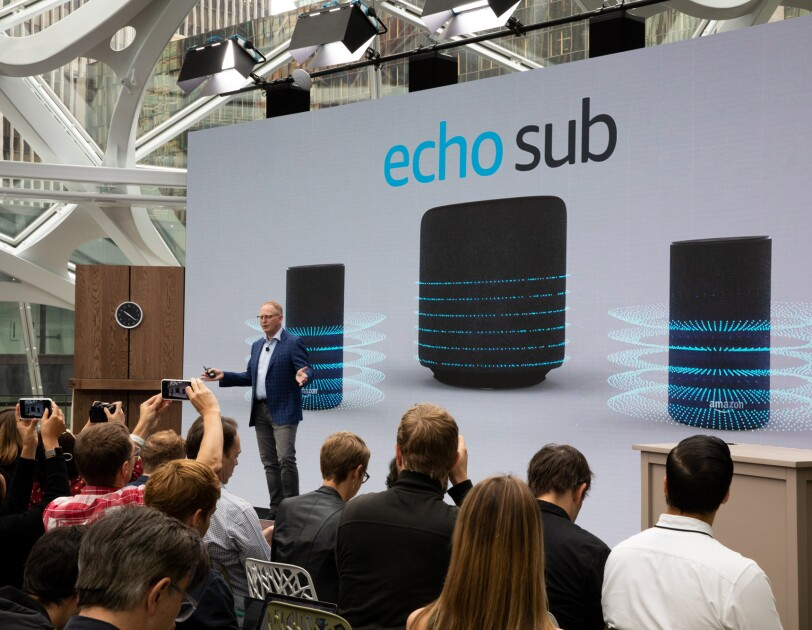 Amazon Devices VP introduces Echo Sub