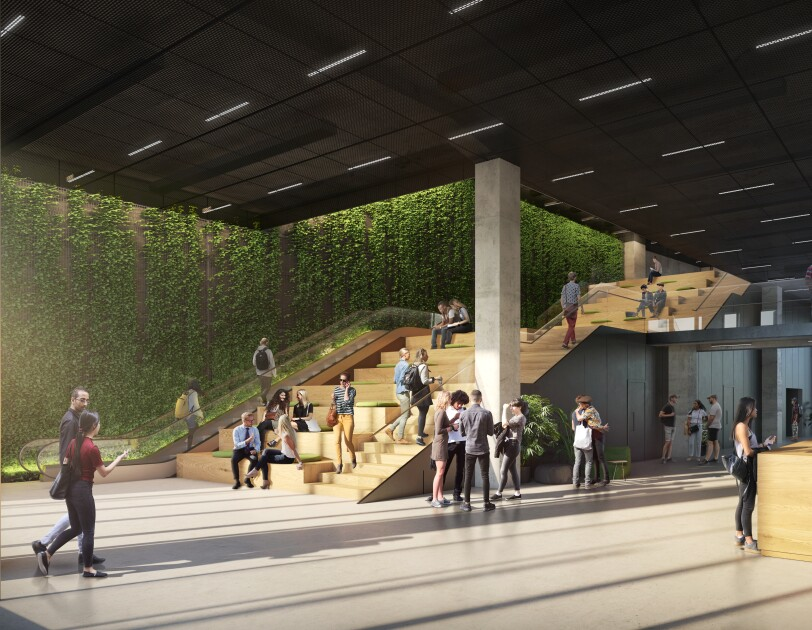 Das neues Amazon Gebäude in Berlin von innen