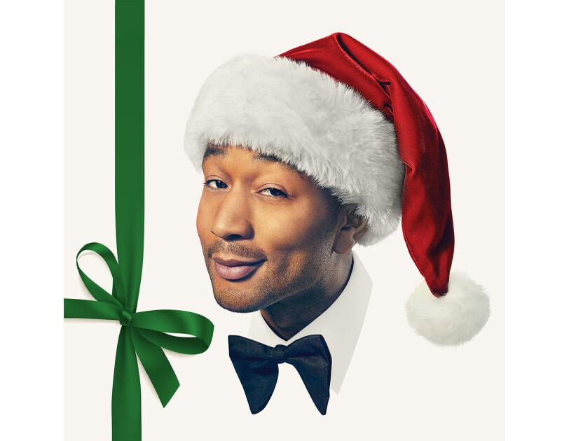 "Album cover of ""A Legendary Christmas"" by John Legend"