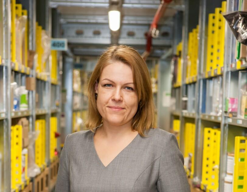 Anna Mindykowska, Senior HR Manager odpowiedzialna za centra regionalne w Europie