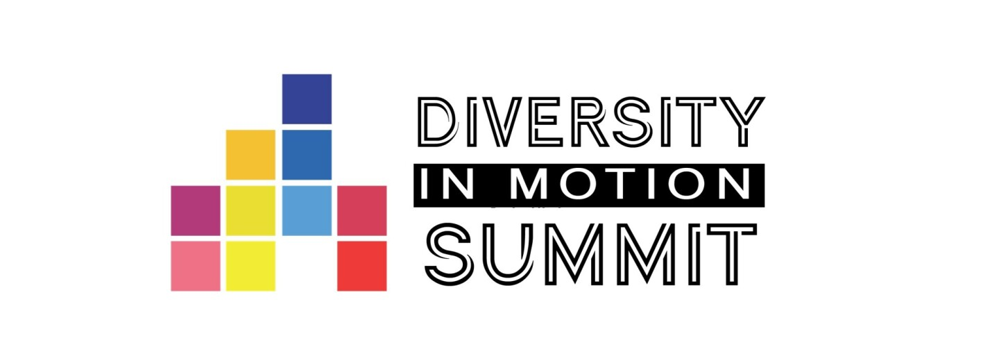 Logo of the Diversity in Motion summit in Luxembourg
