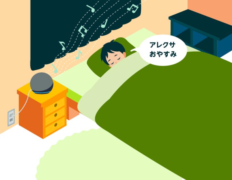 Amazon Alexaで習慣化 睡眠の質を向上する秘けつとは