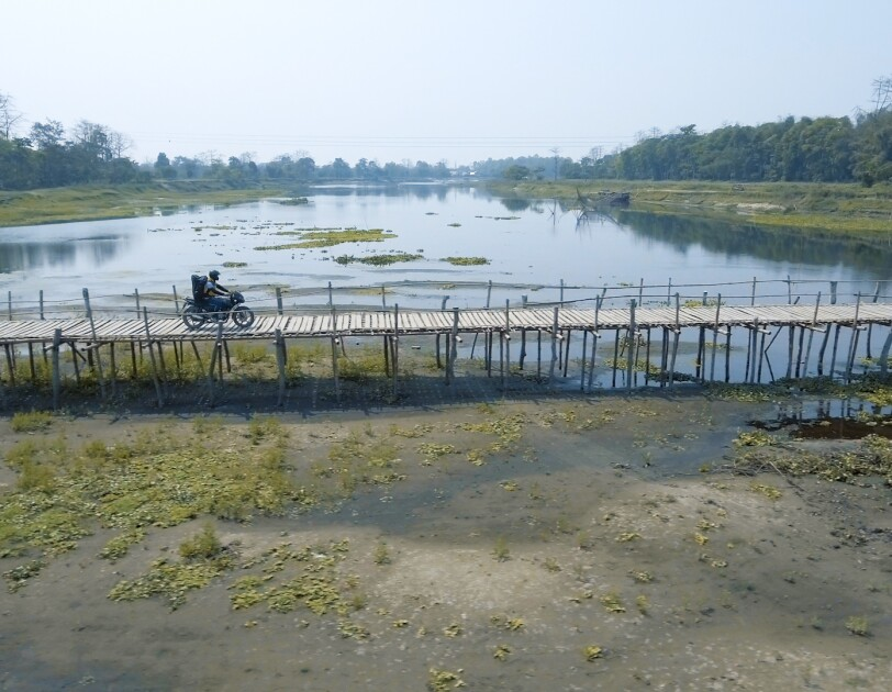 Delivery in Majuli