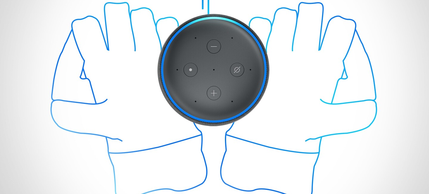 A drawing of acricket glove with Alexa on it