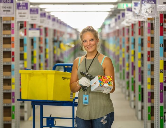 Mitarbeiter der Logistikzentren