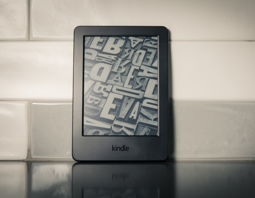 Amazon Kindle through the years