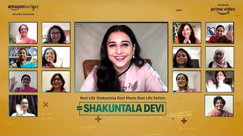 Reel Life Shakuntala surprises real life Women Sellers ft. Vidya Balan | Full Stream