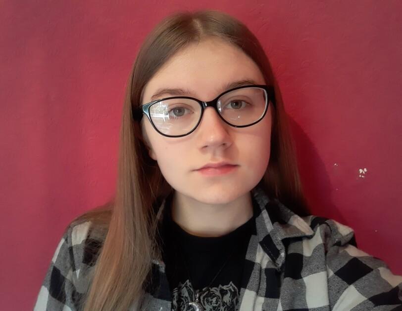 A selfie taken by Lily Nicholson, an awardee of the AFE bursary