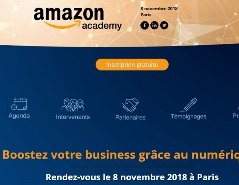 Amazon Academy France  screenshot