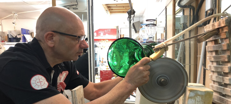 Valery Klein, a French artisan selling on Amazon Handmade