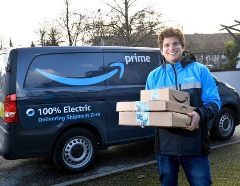 Mit Elektrolieferfahrzeugen werden zukünftig die Pakete ausgeliefert.