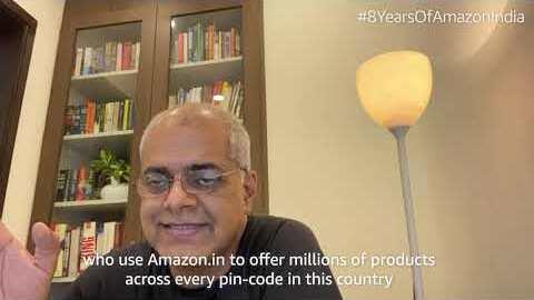 8th anniversary of Amazon.in: Manish Tiwary, VP, Amazon India speaks