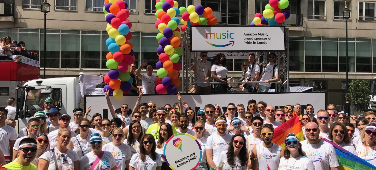 We loved being part of the Pride in London parade.jpg