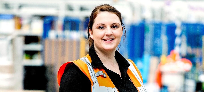 Amazon apprentice LBA1 Emma Wilkinson.