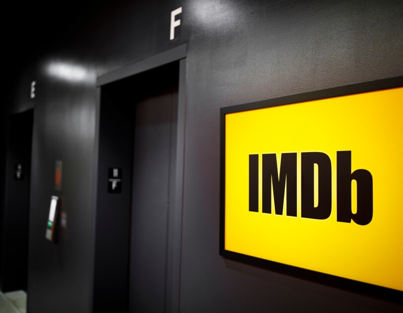 IMDb office - yellow sign 2000 x 1333