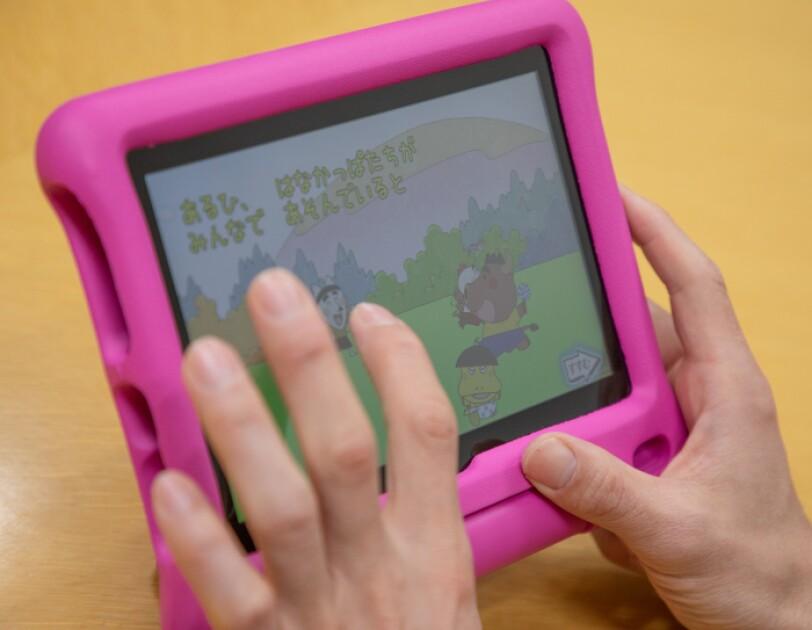 小島よしおさんに聞く。Amazonのキッズタブレット、Fireキッズモデルシリーズが子どもの知育におすすめの理由