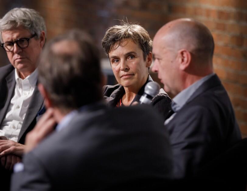 Diskussionsrunde bei der digital.engagiert Preisverleihung.