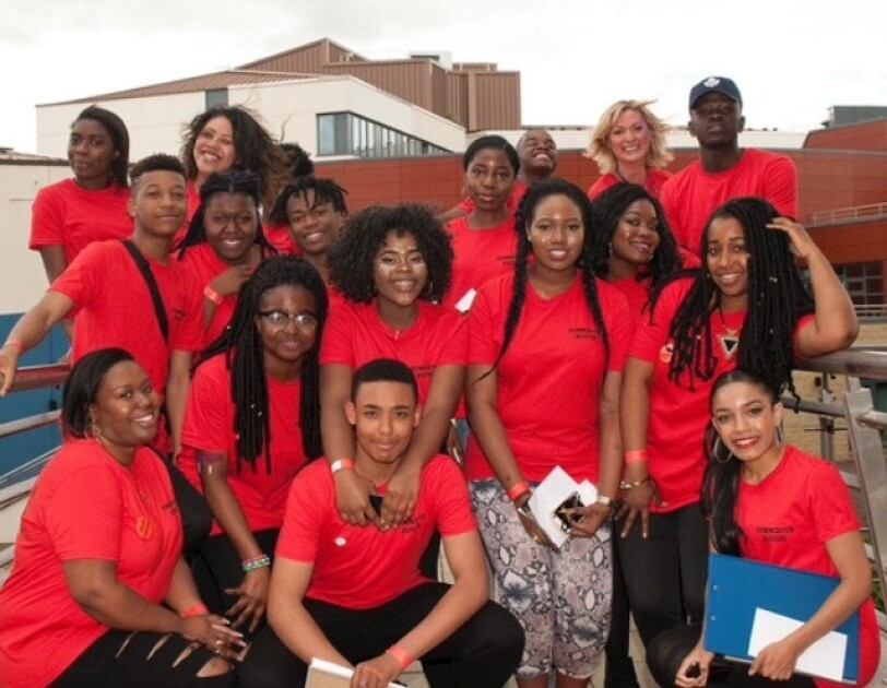 A group image of team members at Conscious Youth.